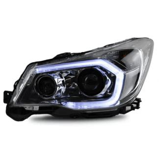 Альтернативная оптика передняя (фары) на Subaru Forester / Субару Форестер 2013-2016