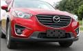 Хром накладка бампера Мазда СХ-5 / Mazda CX-5 2011-2016