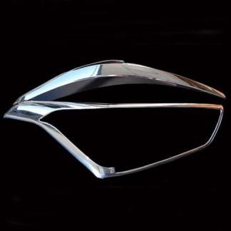 Хром комплект головной оптики Хендай Крета / Hyundai Creta 2016-