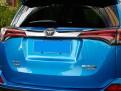 Хром накладка задней двери Тойота Рав 4 / Toyota Rav 4 2016-2017