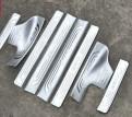 Комплект накладок на пороги для Honda CR-V / Хонда ЦРВ 2012-2014