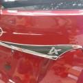 Хромированная накладка задней двери Hyundai IX35 / Хендай Ай Икс 35 2010-2015