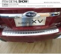 Накладка на бампер  Subaru XV / Субару Икс Ви 2011-