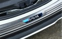 Накладка на задний бампер Тойота Рав 4 / Toyota Rav4 XA40 2016-2017 рестайлинг