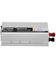 Автомобильный преобразователь напряжения ( инвертор) 12-220 Вольт 1500 Ватт