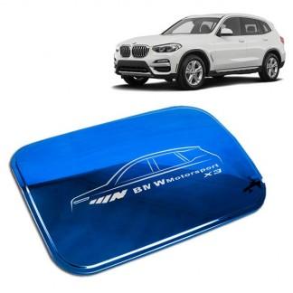 Накладка на лючок бензобака BMW X3 / БМВ Х3 2017-2019