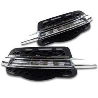 Дневные ходовые огни ( ДХО ) для Mercedes C-Сlass W204 / Мерседес C-Класс В204 2007-2011г