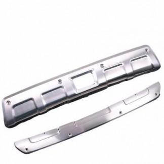 Накладки из нержавеющей стали переднего и заднего бампера Subaru XV / Субару Икс Ви 2011-