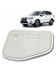 Накладка на лючок бензобака Субару Форестер / Subaru Forester SJ 2012-2018