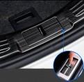 "Накладка порога багажника ""Черный титан"" Форд Мондео 5 / Ford Mondeo 5 2015-2017"