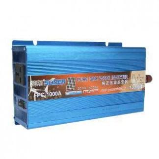 Автомобильный преобразователь напряжения с чистой синусоидой ( инвертор) 12-220 Вольт 1200 Ватт