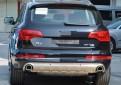 Накладки из нержавеющей стали переднего и заднего бампера Audi Q7 / Ауди Ку 7 2011-2014