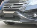 Накладки переднего и заднего бампера Honda CR-V / Хонда СРВ 2012-2014