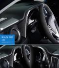 Накладка приборной панели Toyota RAV 4 / Тойота РАВ 4 2016-2019 карбон