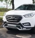 Накладки переднего и заднего бампера Hyundai IX35 / Хендай Ай Икс 35 2013-2015