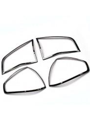 Хром накладка задних фонарей Рено Колеос / Renault Koleos 2009-2016