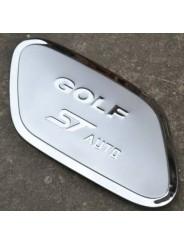 Накладка на лючок бензобака Volkswagen Golf 7 / Фольксваген Гольф 7 2014