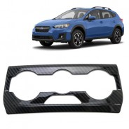 Накладки под карбон Субару ХВ / Subaru XV 2017-2019 на блок климат контроля