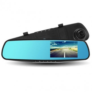 Зеркало видеорегистратор универсальный 4,3 дюйма Full HD